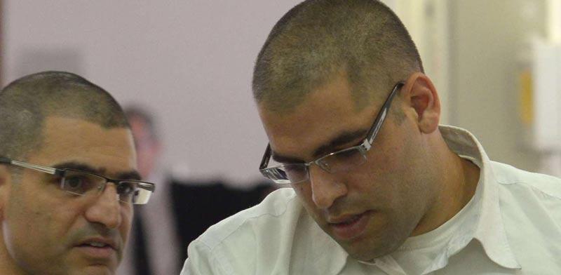 דניאל מעוז ועורך דין דוד ברהום/ צילום: אוריה תדמור