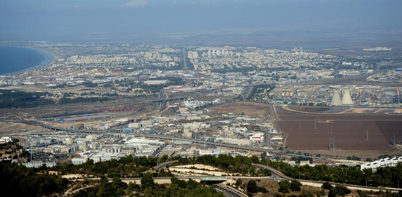 מפרץ חיפה / צילום: איל יצהר