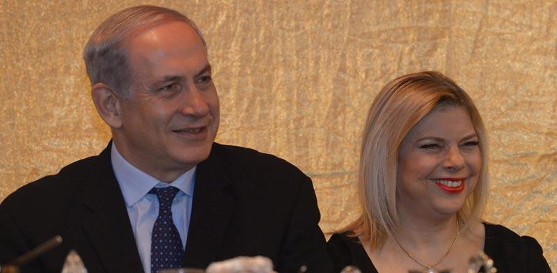 Benjamin & Sara Netanyahu Photo: Mark Nyman L'Am
