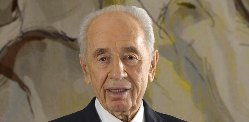 Shimon Peres photo: Mark Neiman
