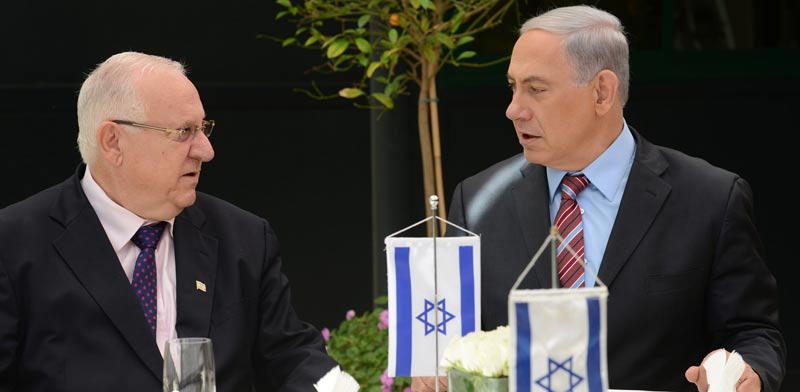 הנשיא ראובן ריבלין ובנימין נתניהו / צילום:  קובי גדעון לעמ