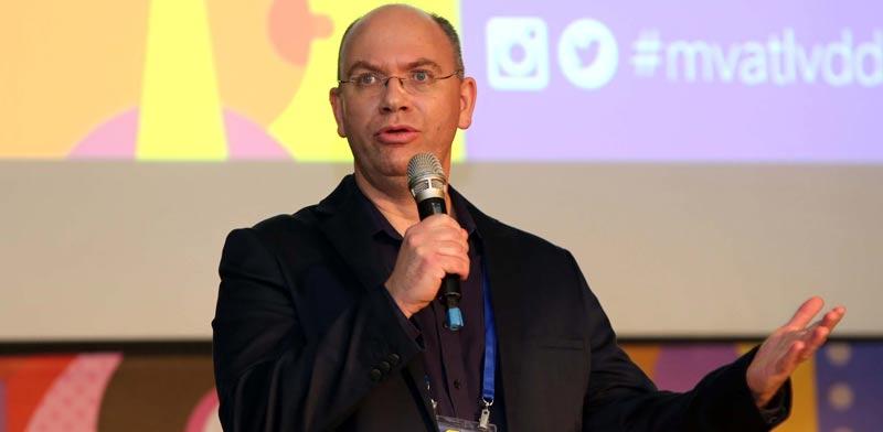 חנן לביא מנהל מיקרוסופט ונצ'רס ישראל / צילום: סיון פרג'