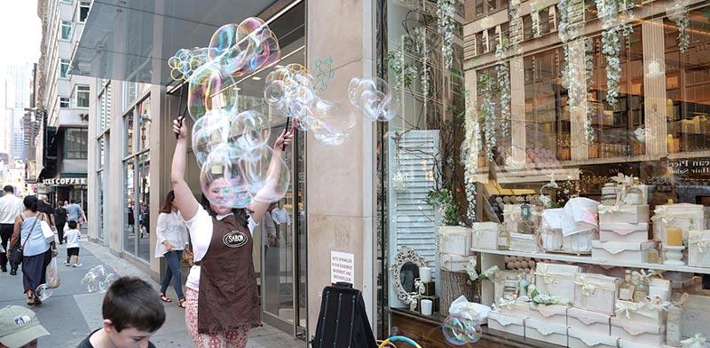 ההשקה של סבון בניו יורק /צילום: ברק רותם