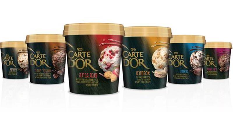 מותג הגלידות CARTE D'OR של גלידת שטראוס/ צילום:יחצ