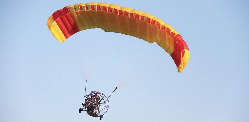טרקטורון מעופף  / צילום:אורלי גנוסר