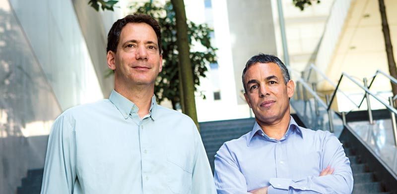 Founders Ori Shilo and Dror Ben-Asher