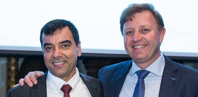 Prof. Amnon Shashua and Ziv Aviram
