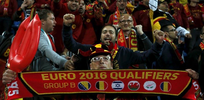 אוהדי נבחרת בלגיה / צלם: רויטרס