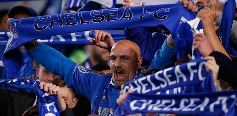 אוהדי צ'לסי באצטדיון סטמפורד ברידג' / צלם: רויטרס