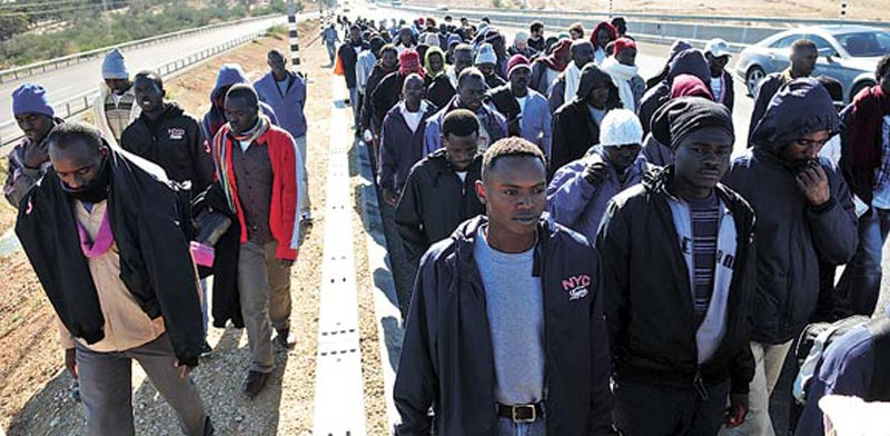 פליטים / צילום: רפי קוץ