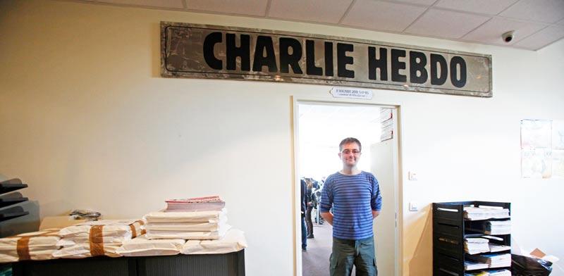 """מערכת העיתון """"שרלי הבדו"""" - פריז / צלם: רויטרס"""