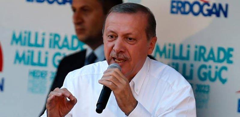 נשיא טורקיה, רג'פ טאיפ ארדואן / צילום: רויטרס