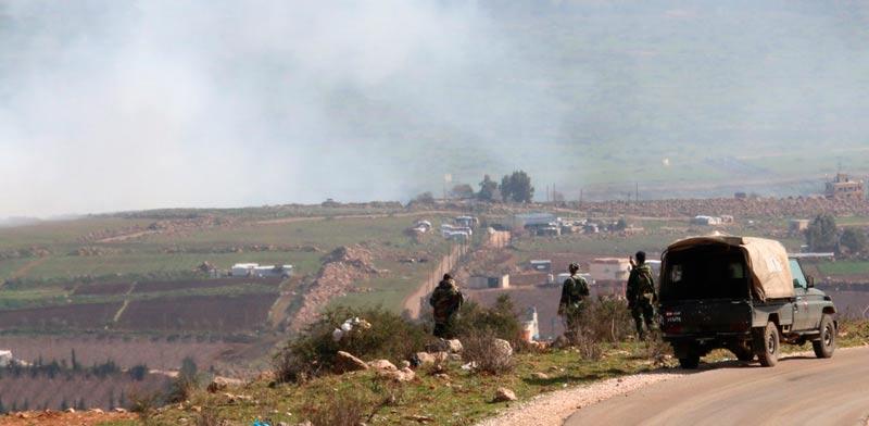 Lebanese border Photo: Reuters
