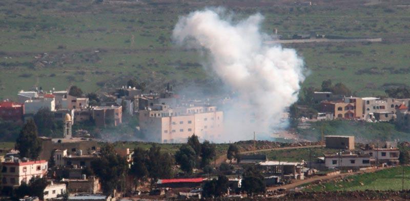Israel-Lebanese border Photo: Reuters