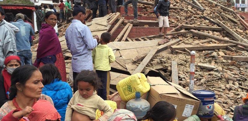 רעידת האדמה בנפאל / צילום: רויטרס