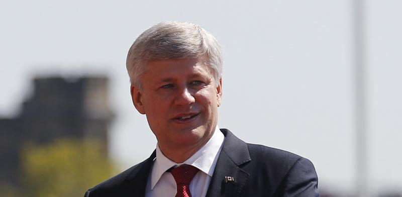 Stephen Harper  photo: Reuters