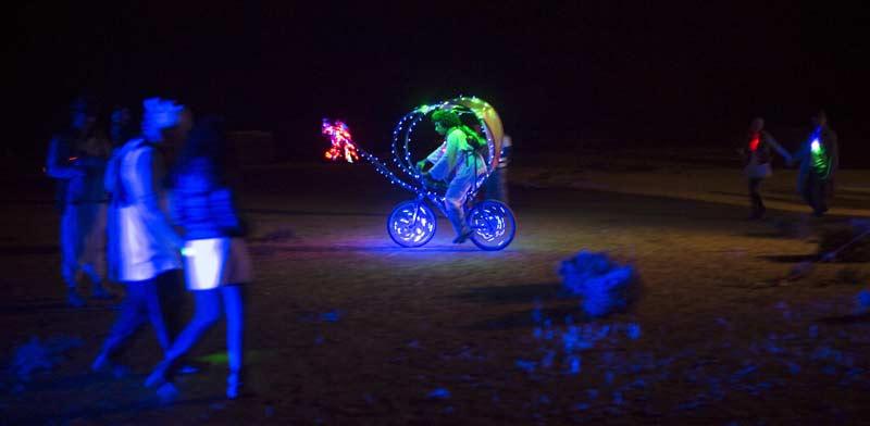 פסטיבל הבירנינג-מן / צילום: רויטרס