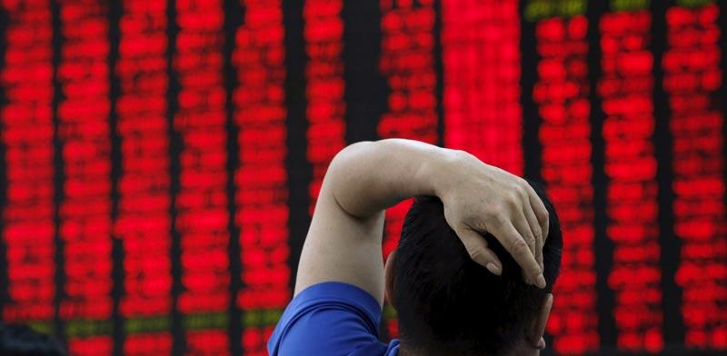 בורסת סין / צילום: רויטרס