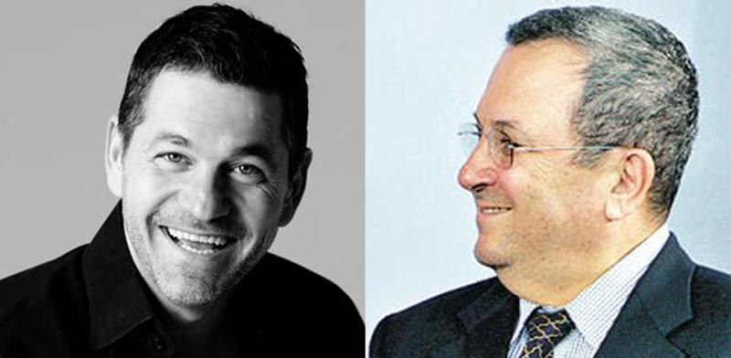Gary Fegel and Ehud Barak
