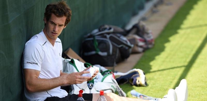 אנדי מארי, טניס / צלם: רויטרס
