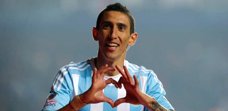 אנחל די מאריה, נבחרת ארגנטינה / צלם: רויטרס