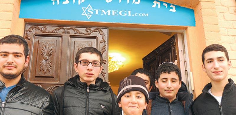 בית הכנסת בגובה/ צילום: שי שבתאי