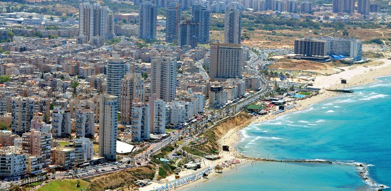 Bat Yam beachfront