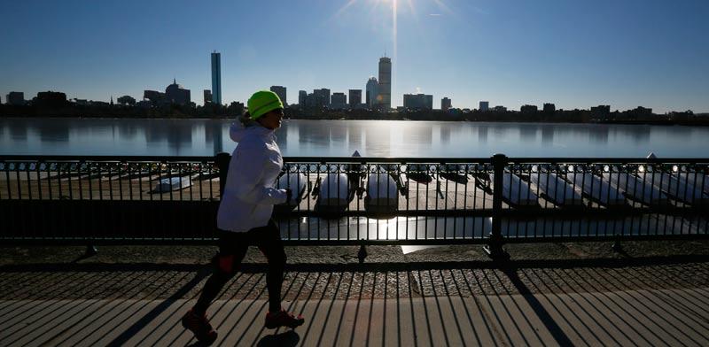"""קו הרקיע של בוסטון, ארה""""ב / צלם: רויטרס"""
