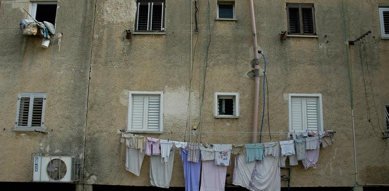 שכונת עוני / צילום: תמר מצפי