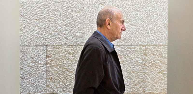 אהוד אולמרט / צילום: דודו ועקנין
