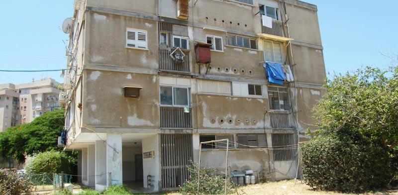 אחד הבניינים המיועד להריסה / צילום: ועד בעלי הדירות