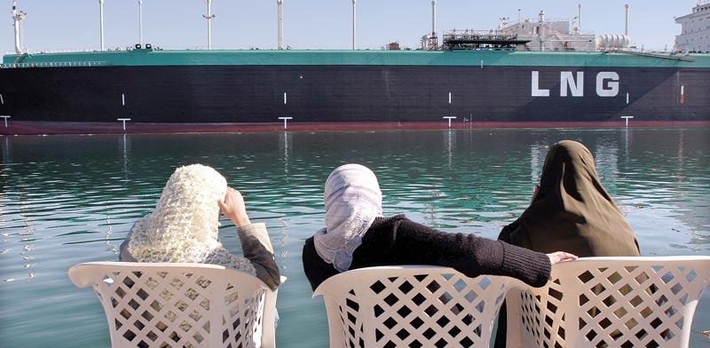 ספינת LNG בתעלת סואץ / צילום: בלומברג