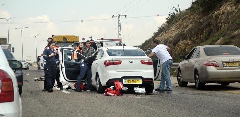תאונת דרכים / צילום: איל יצהר