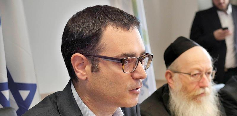 יעקב ליצמן ומשה בר סימן טוב / צילום: אוריה תדמור