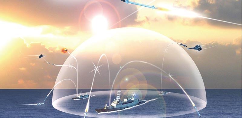 Barak missile system