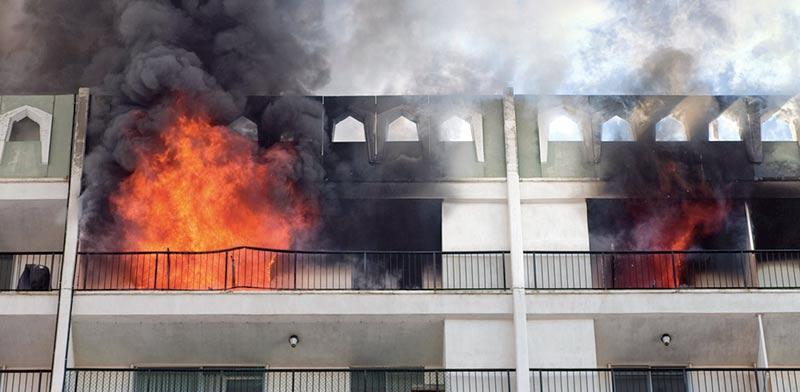 שריפה בדירה / צילום: שאטרסטוק