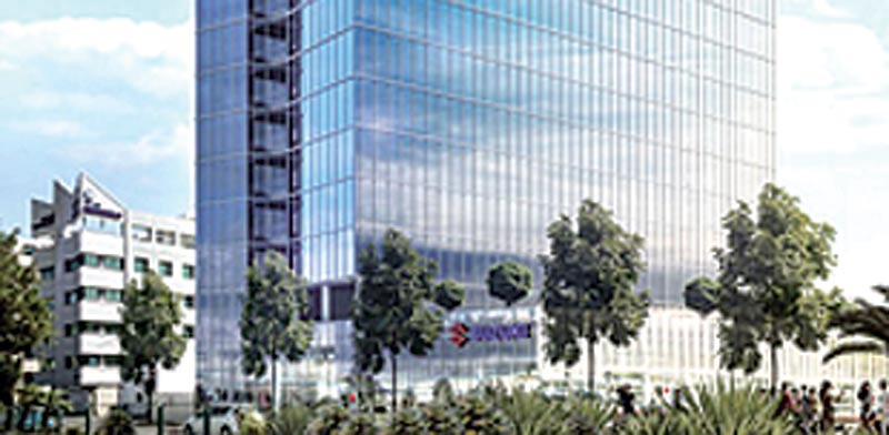 """הדמיית בניין סוזוקי בת""""א / צילום: יחצ"""