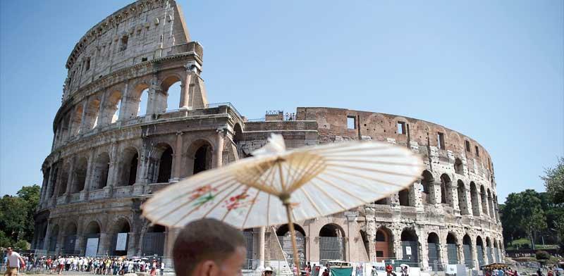 הקולוסיאום ברומא / צילום: רויטרס