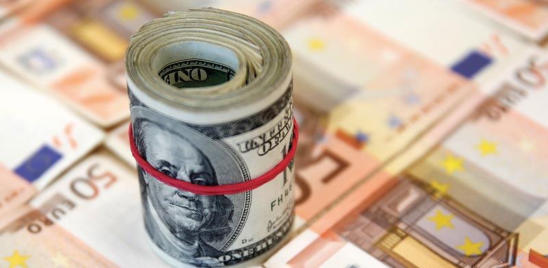 """אירו, דולר  מט""""ח / צילום: רויטרס"""