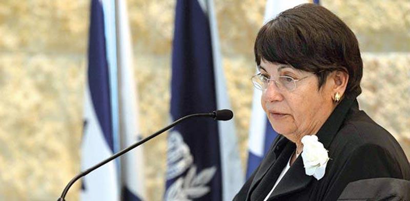השופטת מרים נאור / צילום: אוריה תדמור