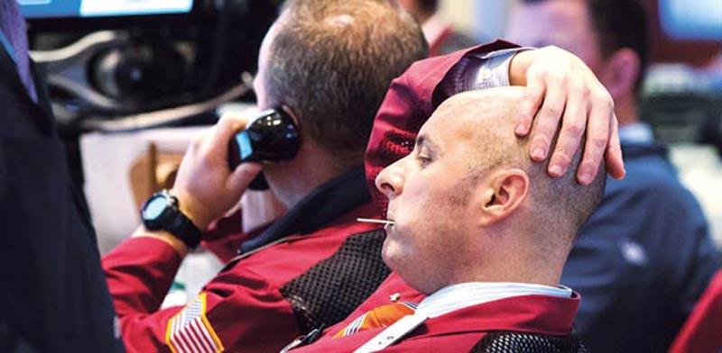 סוחרים בשוק האמריקאי, בורסה / צילום: רויטרס