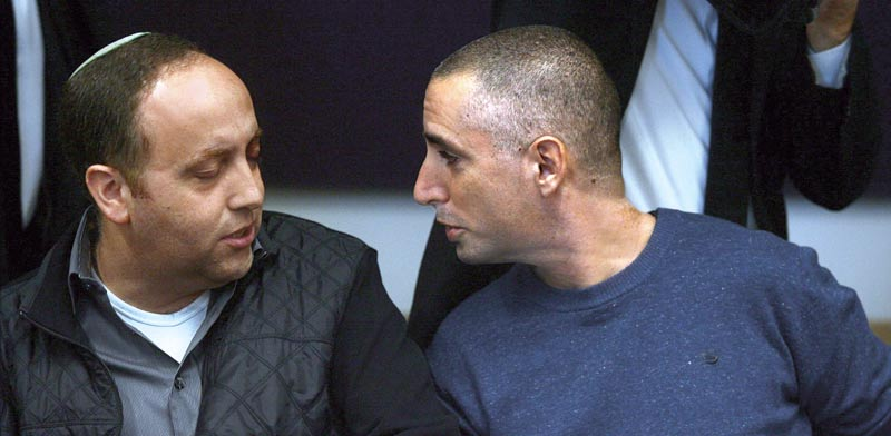 דוד אדרי ושי בן דוד / צילום: רוני שיצר