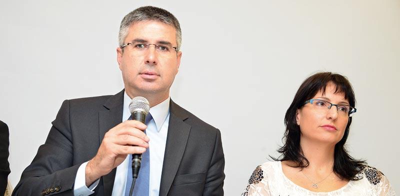 שלומית ווגמן ומשה אשר / צילום: תמר מצפי