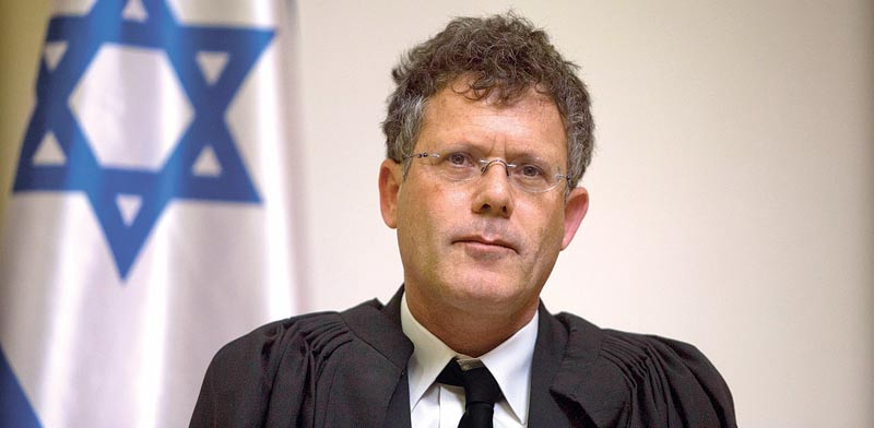 השופט יצחק עמית. דעת מיעוט / צילום: ליאור מזרחי