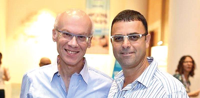 חן שרייבר ועופר מנירב / צילום: יחצ