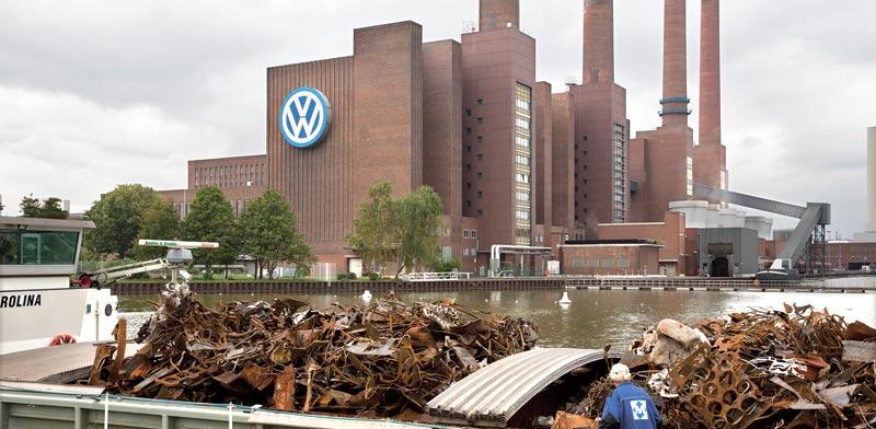 מפעל פולקסווגן בוולפסבורג / צילום: רויטרס