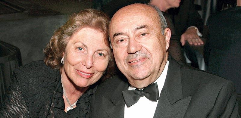 פרופסור אנדרו ויטרבי ורעייתו המנוחה ארנה פינצ'י ויטרבי / צילום: סטיב קון