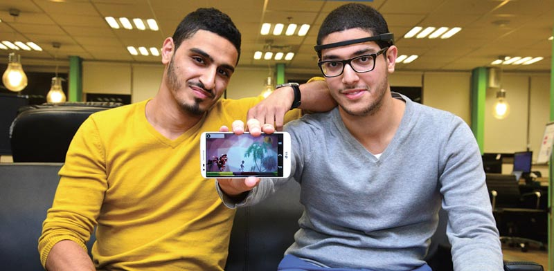 Aziz Kaddan and Anas Abu Mukh