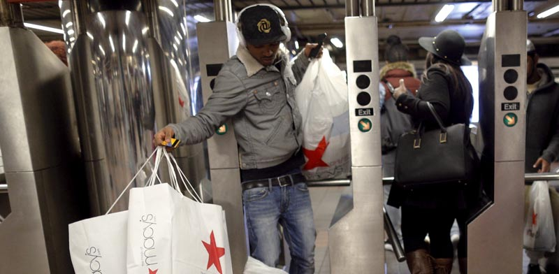 קדחת הקניות בניו יורק / צילום: רויטרס
