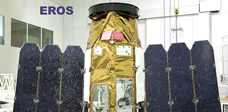 EROS satellite